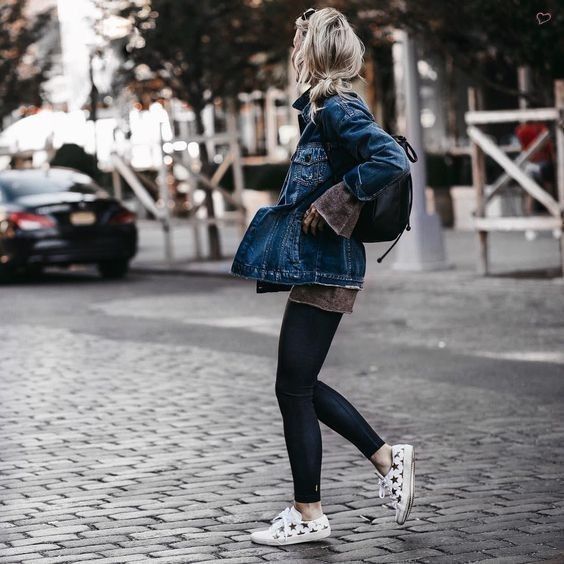 Relaxing Denim... - Street Style