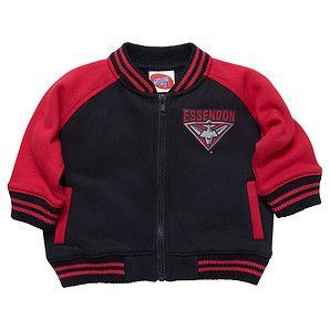AFL Essendon Bombers Infant Letterman Jacket