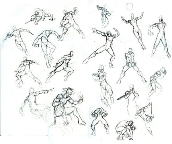 160 best images about Action/Battle Poses on Pinterest | Street ...