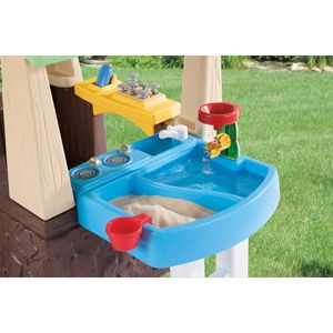 Little Tikes Deluxe Home and Garden Playhouse: Outdoor Play : Walmart.com