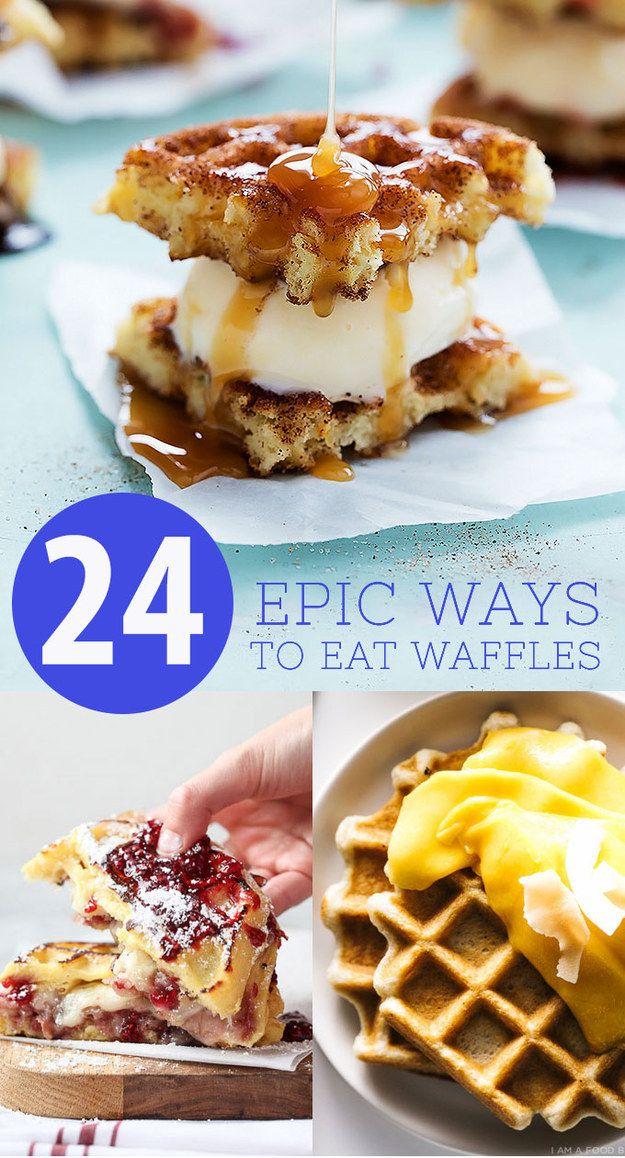 24 Orgasmic Ways To Celebrate International Waffle Day