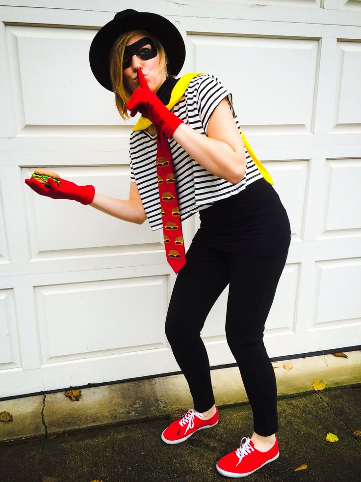 The Hamburglar. My Halloween costume for this year!