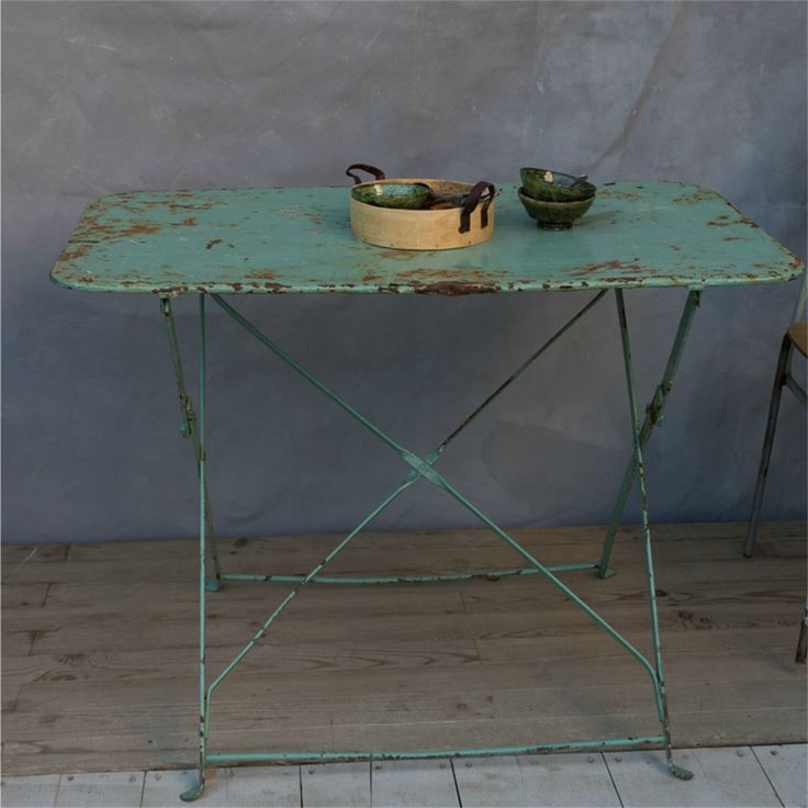 Picture Of Beautiful Vintage Bistro Table