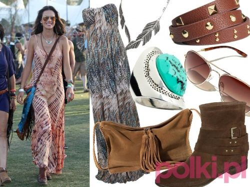 Moda festiwalowa 2014, styl Alessandry Ambrosio
