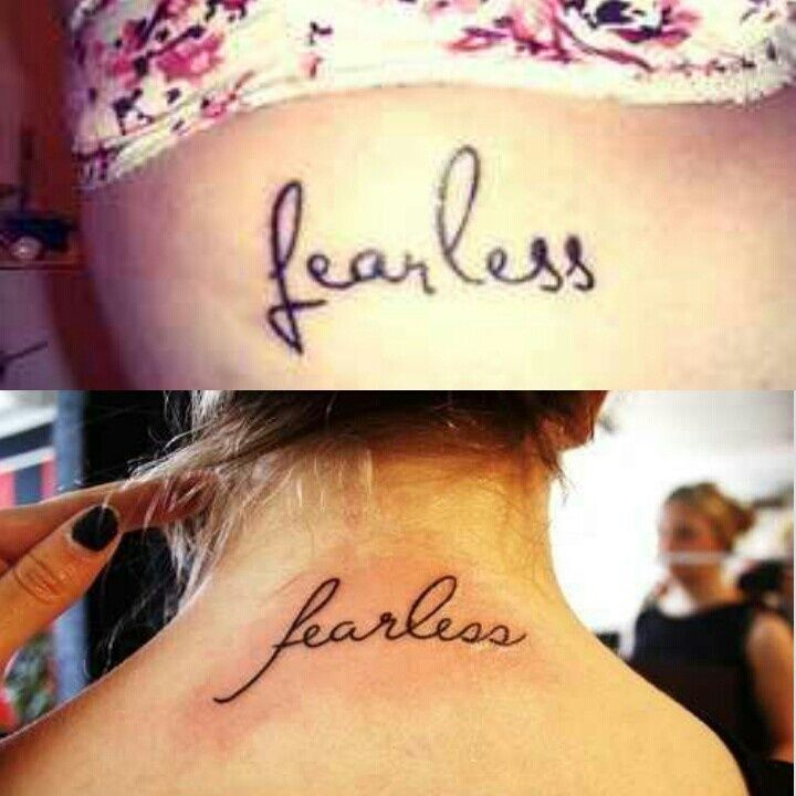 best 10 fearless tattoos ideas on pinterest love fearlessly tattoo cursive fonts in word and. Black Bedroom Furniture Sets. Home Design Ideas