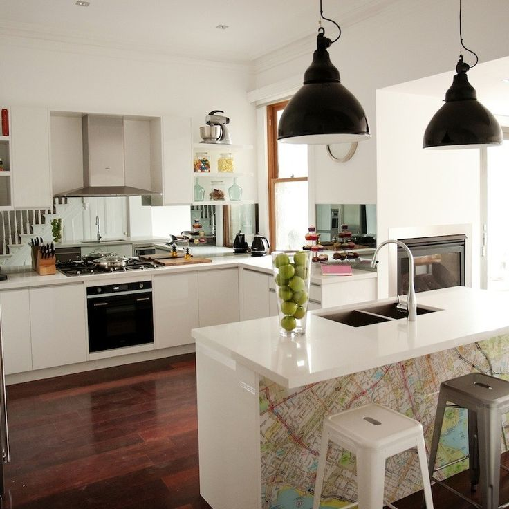 Brad & Lara's Kitchen. The Block Australia