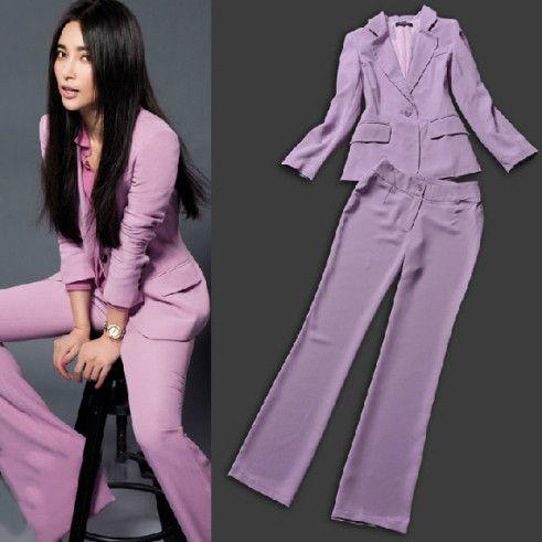 Women Purple Pant Suits Women Pant Suits On Red Carpet
