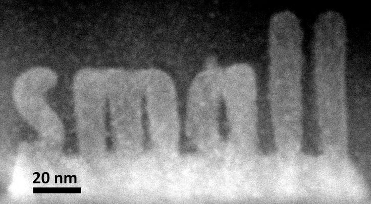 New Electron Microscopy Method Sculpts 3-D Structures at Atomic Level. ORNL researchers used a new scanning transmission electron microscopy technique to sculpt 3-D nanoscale features in a complex oxide material. CREDIT Department of Energy's Oak Ridge National Laboratory
