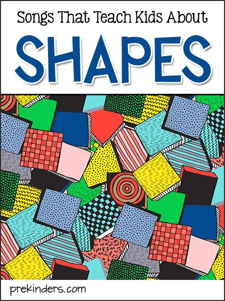 Shapes Songs for Kids. Perfect for Preschoolers at home or in the classroom.