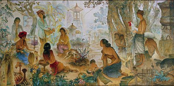 Lee Man Fong - Bali life