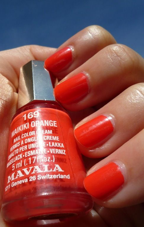 Mavala Waikiki Orange | #EssentialBeautySwatches | BeautyBay.com