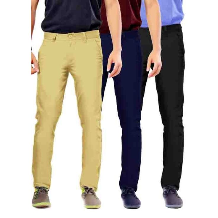 Uber Urban Mens Non Stretch 100% Cotton  Rocky pant Slim Beige,Blue,Black Trouser. More details at Uberurban.in