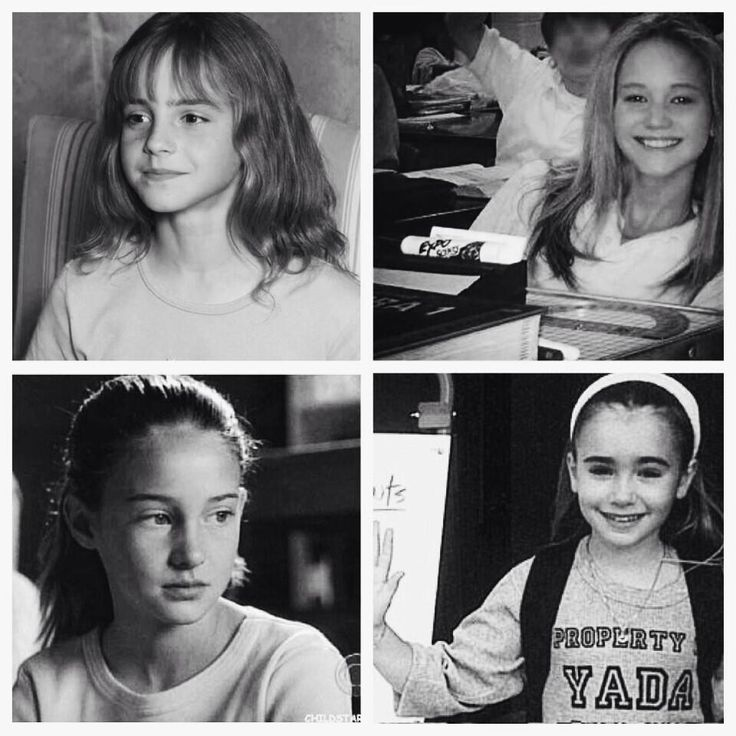 The Young: Emma Watson, Jennifer Lawrence, Shailene ...