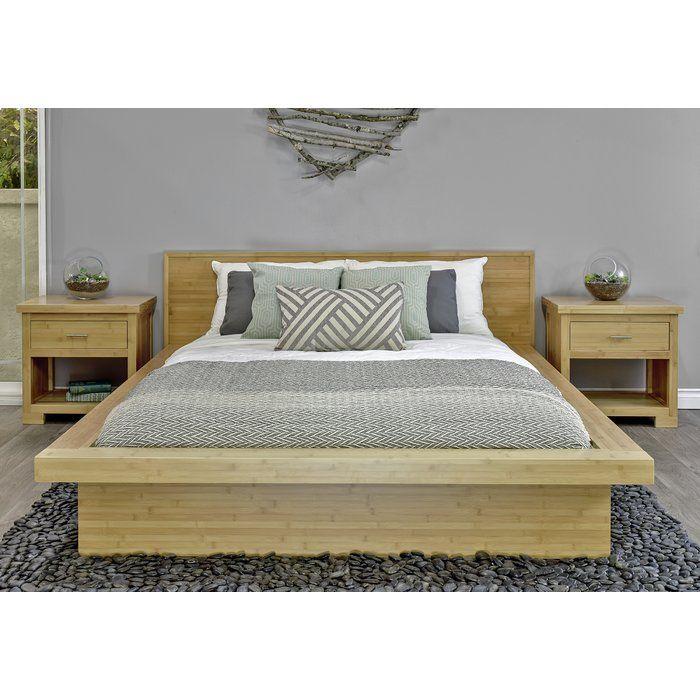 Acosta Solid Wood Low Profile Platform Bed Diy Bed Frame Plans Homemade Bed Frame Wood Bed Design
