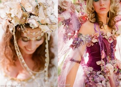 Gorgeous Fairy/Elven/Enchanted Forest themed wedding!!!