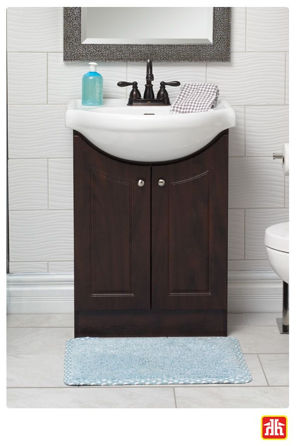 The perfect vanity to make a bold statement in your bathroom
