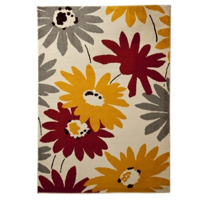 """Room Essentials® Bright Exploded Flowers Rug - Seed Pearl (63x84"""").Opens in a new window"""
