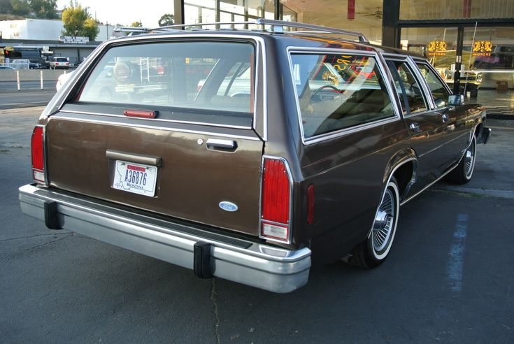 1987 Ford Ltd Crown Victoria Wagon 40 000 Original Miles Station Wagon Ford Ltd Wagon