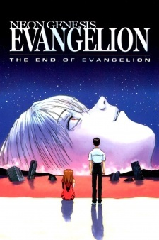 Neon Genesis Evangelion: The End of Evangelion  I mean, come on, they show who ends up together in the end on the *posters*.