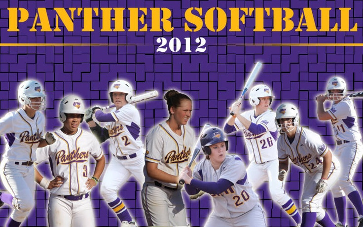 2012 Panther Softball