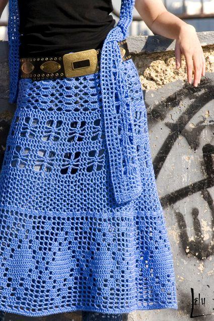 Crochét skirt