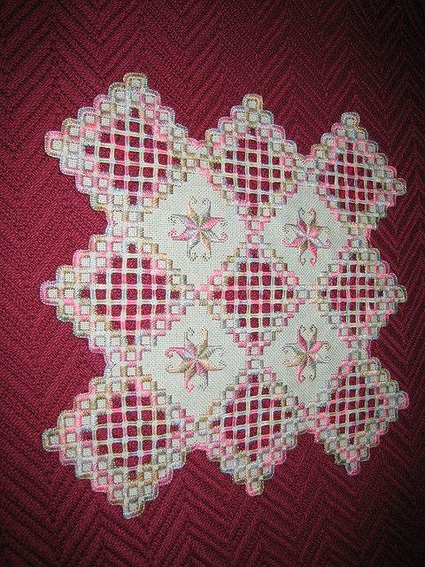 Hardanger Embroidery | Flickr: Intercambio de fotos