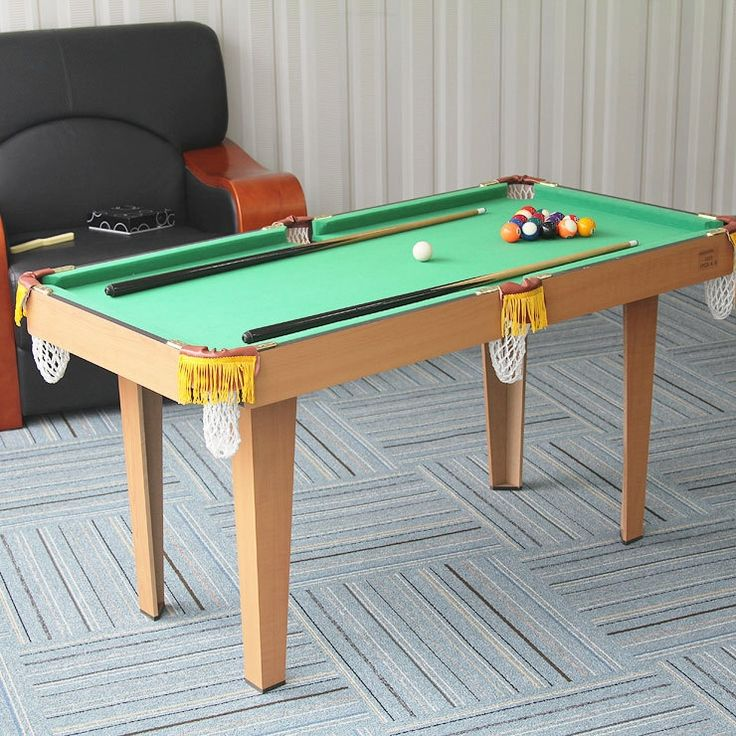 105.00$  Buy now - http://ali48l.worldwells.pw/go.php?t=32451165182 - 1.2 meters indoor pool toys table indoor pool billiard table  children toy table 49inch with cues, brush, chalk and pool ball 105.00$