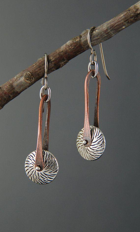 Pinned Spur Earrings by MaggieJs on Etsy, $45.00