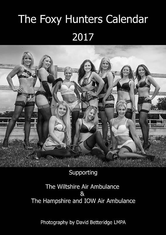 2017+Foxy+Hunters+Charity+Calendar, £13.50