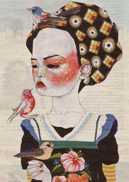 la-pitonisa-tropical: by Del Kathryn Barton