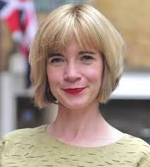Image result for lucy worsley new haircut