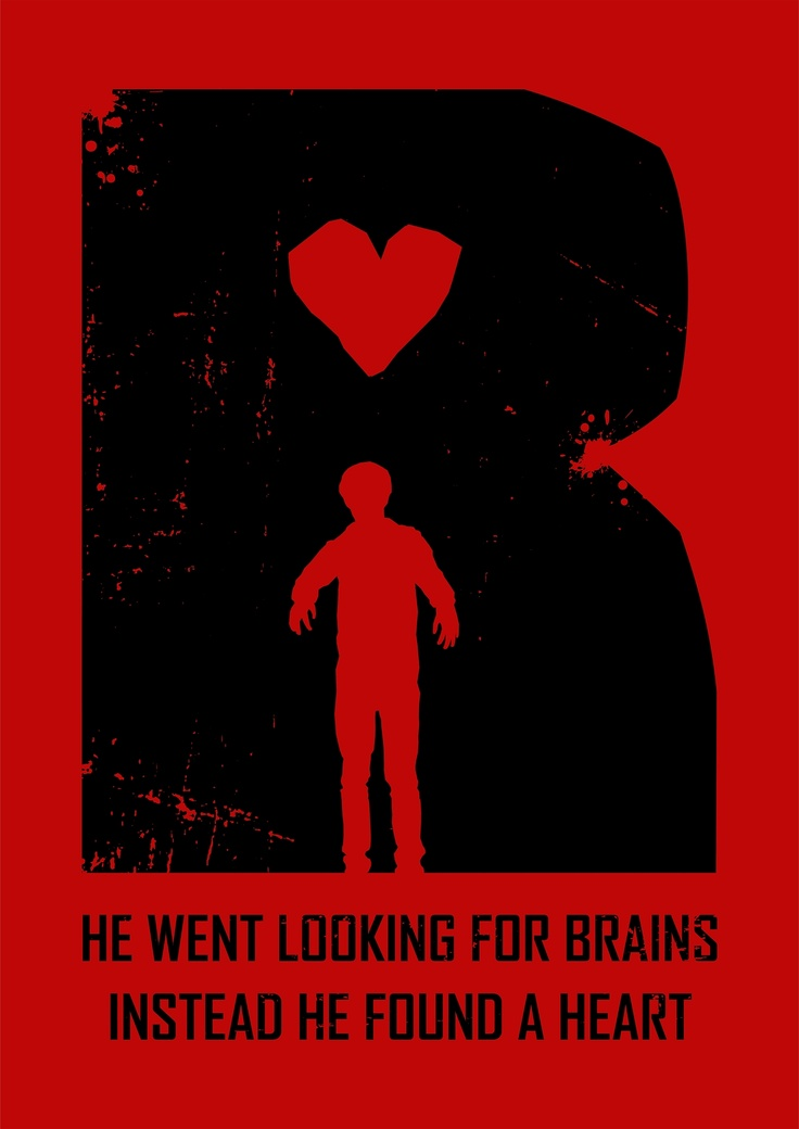 He went looking for brains. Instead he found a heart. #warmbodies #fanart