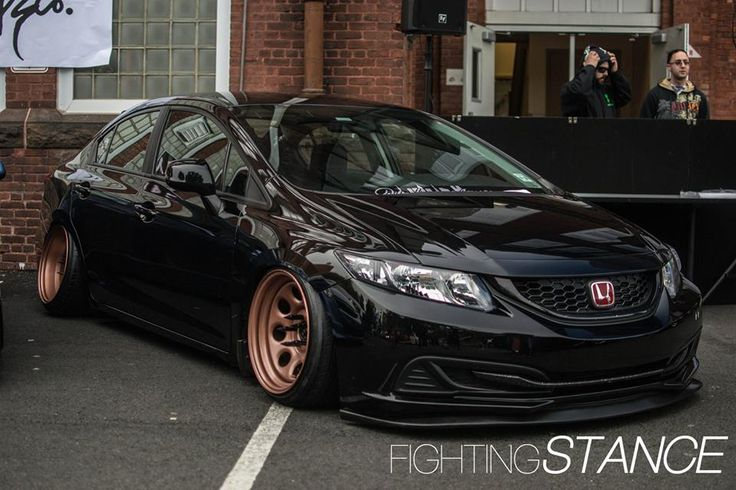 9th gen civic looking proper autos pinterest cars. Black Bedroom Furniture Sets. Home Design Ideas