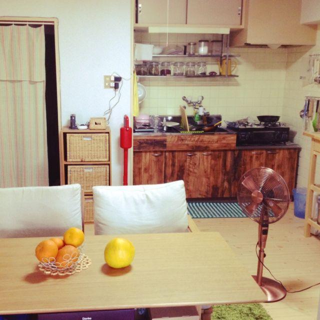 昭和なキッチンをDIY/賃貸…などのインテリア実例 - 2015-05-01 18:28:03