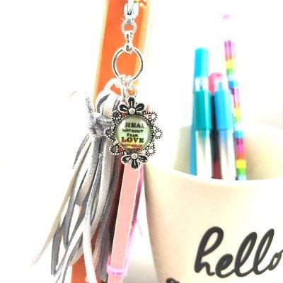 Inspirational Gray Tassel Planner Charm handmade | mompreneur  | planner accessories  | planner addict  | planner community  |  plannercrazy  | planner essentials  | planner girl  | planner goodies  | planner junkie  | plannerlove  | planner nerd  | planner organizer  | planner supplies  | planning  | shophandmade  | shopsmall  | smallbiz  | supportsmall  | happyplanning