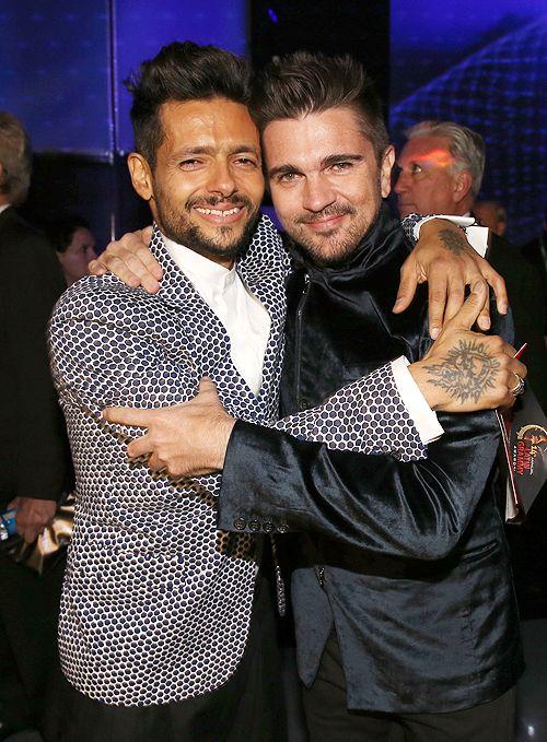 Draco Rosa y Juanes.
