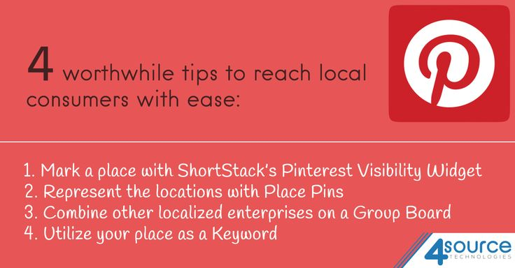 Searching for ways to get connected with your local customers? Explore 4 Pinterest Tips to reach your target.