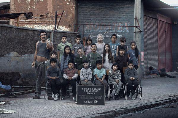 Unicef by Andrés Acevedo, via Behance