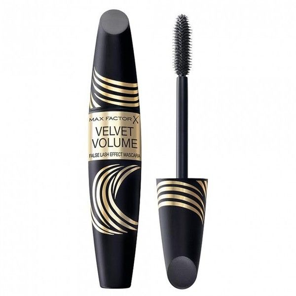 Buy False Lash Effect Velvet Volume Mascara 13.1 mL by Max Factor... ❤ liked on Polyvore featuring beauty products, makeup, eye makeup, mascara, beauty, max factor and max factor mascara