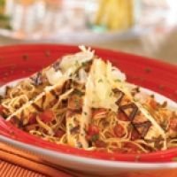 Tgi Fridays Bruschetta Chicken Pasta Recipe--this is my favorite dish at Fridays and since we there isn't one in town, problem solved