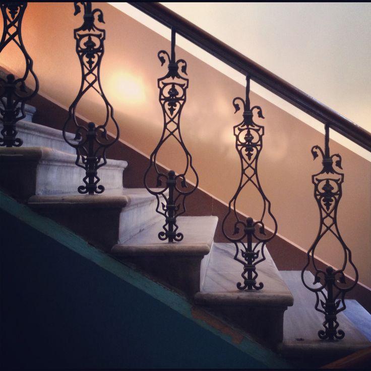 İstanbul, Turkey. stairs