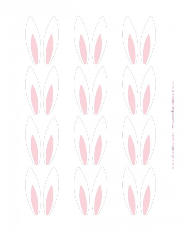 One Charming Party   Birthday Party Ideas › bunny party: cupcakes and cookies