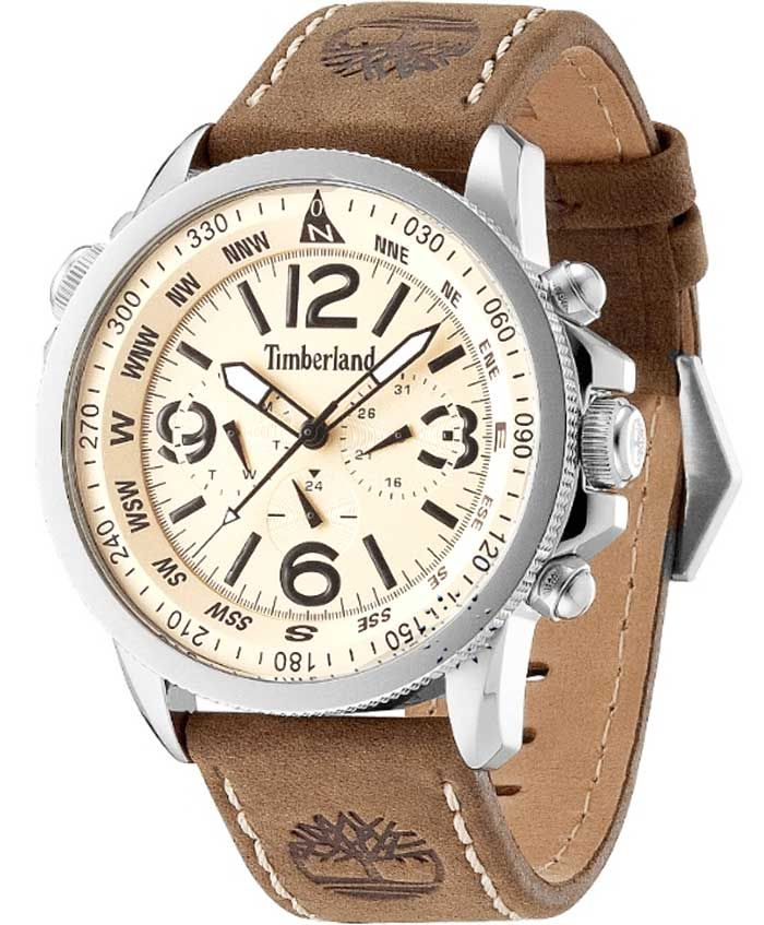TIMBERLAND Campton Brown Leather Strap Η τιμή μας: 157€ http://www.oroloi.gr/product_info.php?products_id=35600