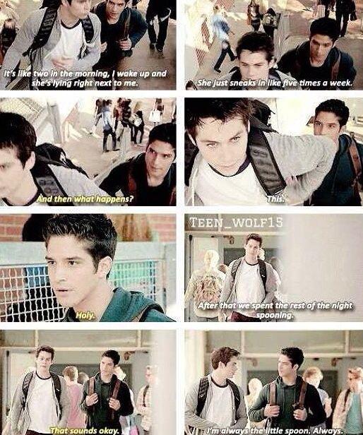 Hahahaha Stiles!