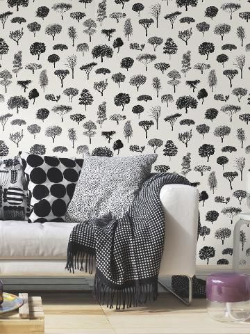 Marimekko Linnapuisto Wallpaper