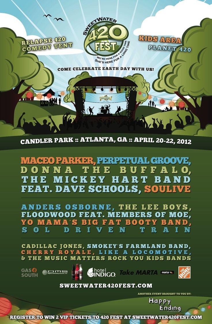 Looking for something fun to do in the ATL this weekend? Look no further! Come out to Candler Park Fri-Sun for SweetWater 420 Fest. The event doesn't allow us to bring any dogs with us this year, but stop by our booth to enter our cabin raffle, buy some JRT merchandise, make a donation, win a doggie prize or just say hi. We'd love to see you there!