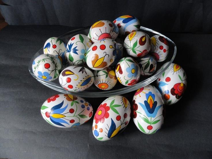 Kaszubskie jajka wielkanocne / Kashubian eastern eggs #Kashubia