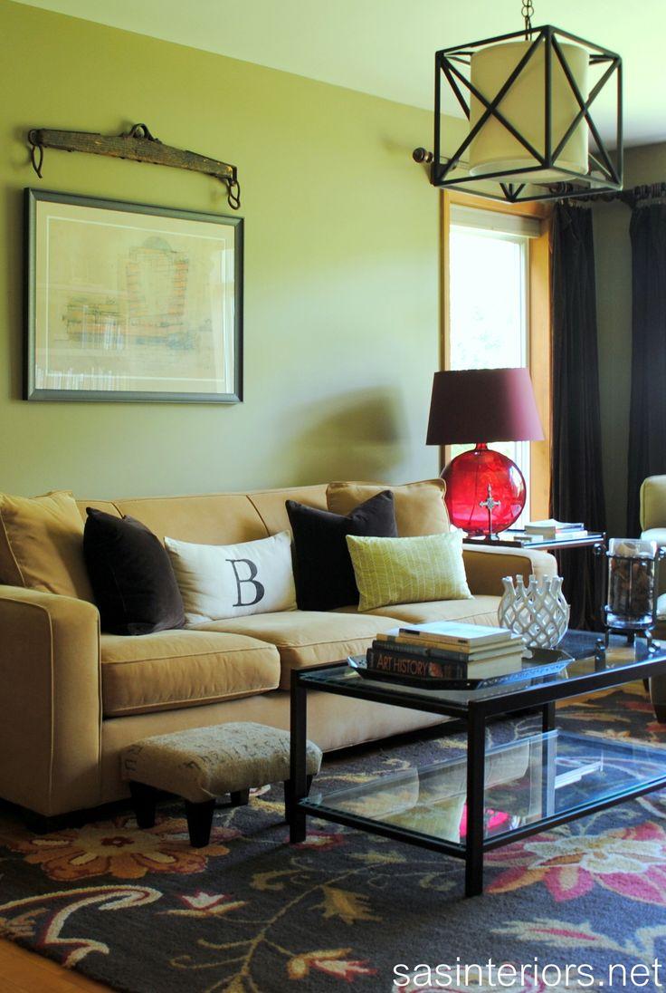40 best green living room images on pinterest | green living rooms