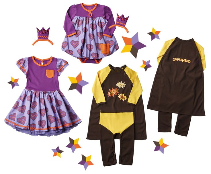 PRINCESS HEARTS and KAPOW from ej sikke lej AW13 collection