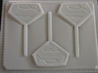 Superman Lollipop Mold